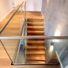 Заказывайте качественные ограждения из стекла для лестниц в компании «АРМА»