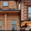 Видео: Установка обсады в сруб из кедра. Монтаж окна в обсаду